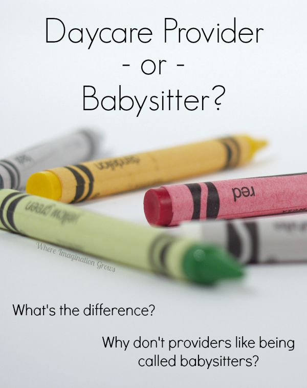 Daycare Provider vs Babysitter? Advice on Home Daycare