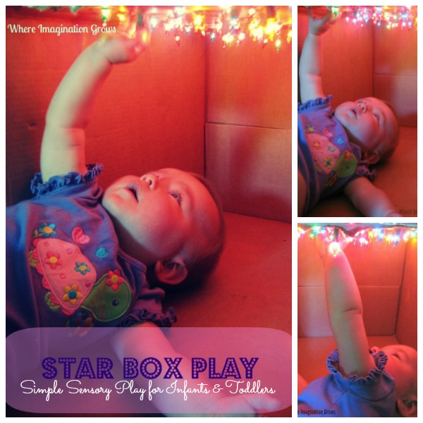 Star Box Sensory Play for Infants & Toddlers