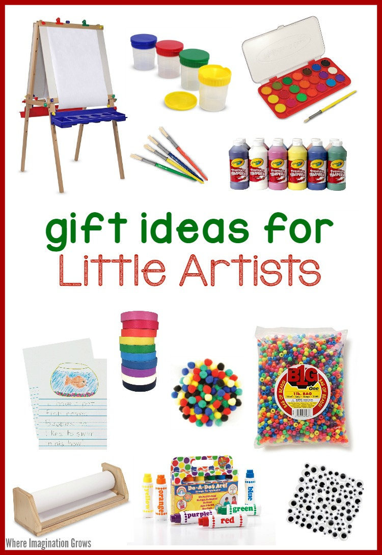 art supplies for kids! gift ideas for little artists - where