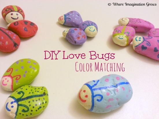 Love Bug Rocks Color Matching