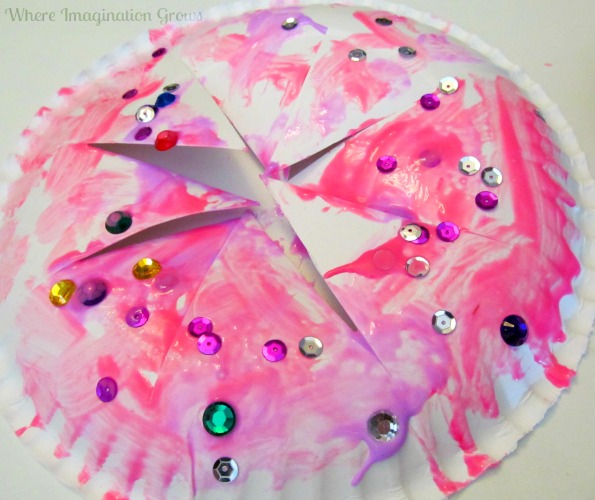 paper plate crown craft for kids