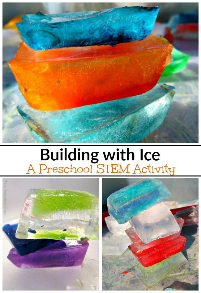 ice building blocks simple stem for kids where