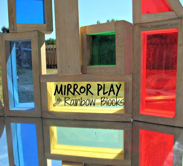 Mirror Play with Rainbow Blocks! Learning Symmetry for Kids