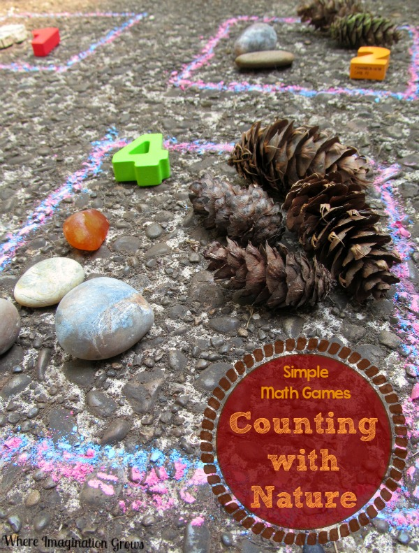 Outdoor Math Games: Counting with Natural Materials