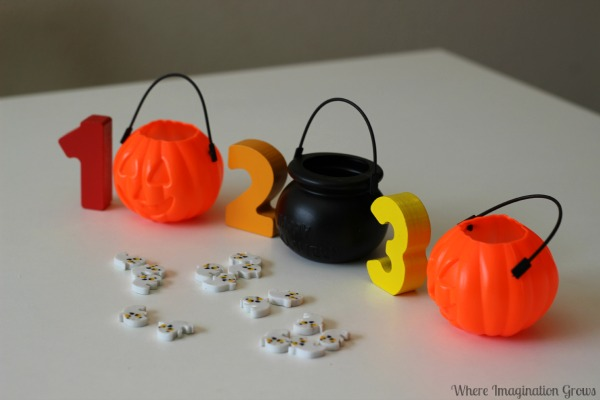 Halloween Math Games for Preschoolers