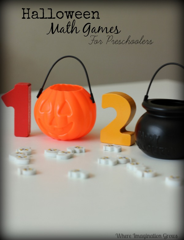 Simple Halloween Counting Activity for Preschoolers