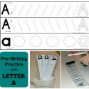 Pre-writing Practice with the Letter A