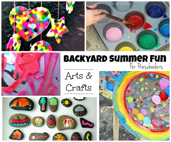 Summer Backyard Fun for Kids: Outdoor Arts & Crafts