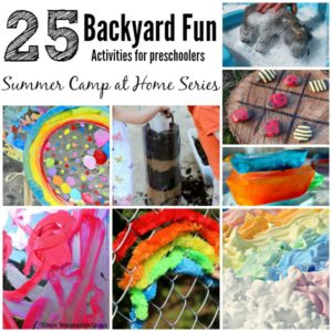 Summer Camp at Home! 25 Fun Backyard Kids Activities