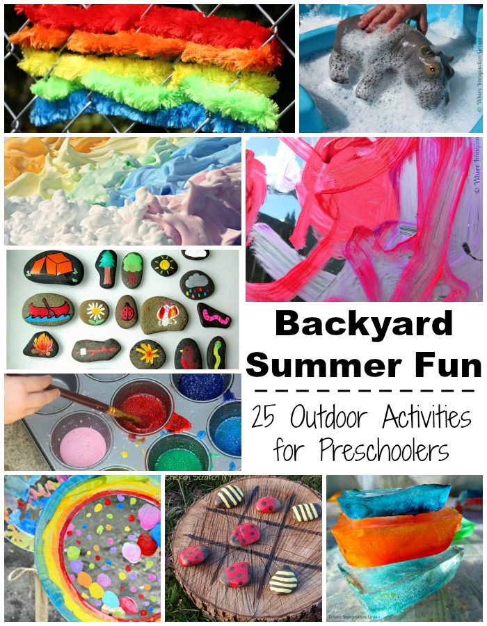 Backyard Summer Fun: Outdoor Kids Activities for Preschoolers