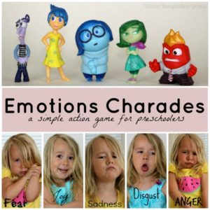 Emotions Charades: Teaching Emotions Through Play