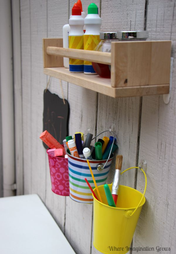 Outdoor Creative Art Station For Kids Where Imagination Grows