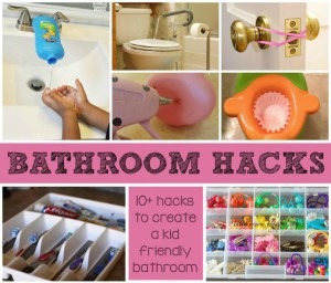 Kid Friendly Bathroom Hacks for Busy Families & Home Daycare Providers