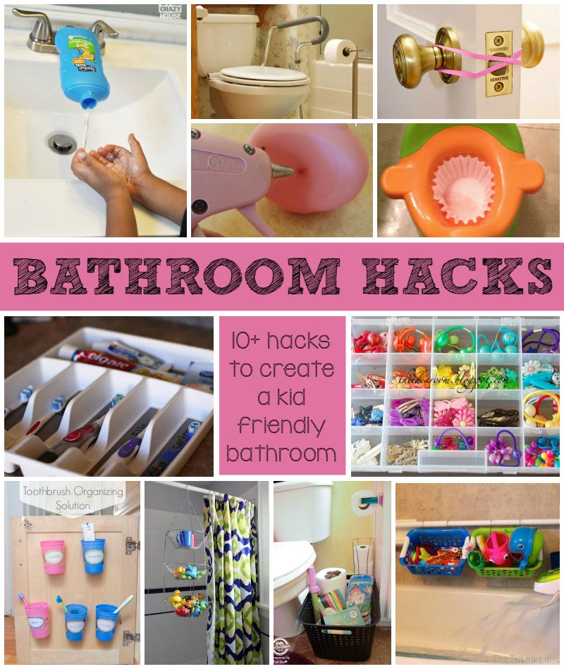 Kid Friendly Bathroom Hacks For Busy Families Amp Home