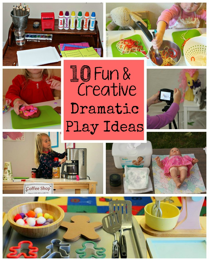 10 Fun Creative Dramatic Play Ideas For Preschoolers Where Imagination Grows