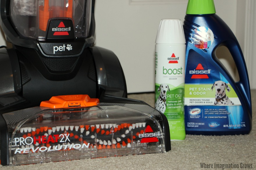 BISSELL ProHeat 2X Revolution Pet Carpet Cleaner for Easy Holiday Clean Up