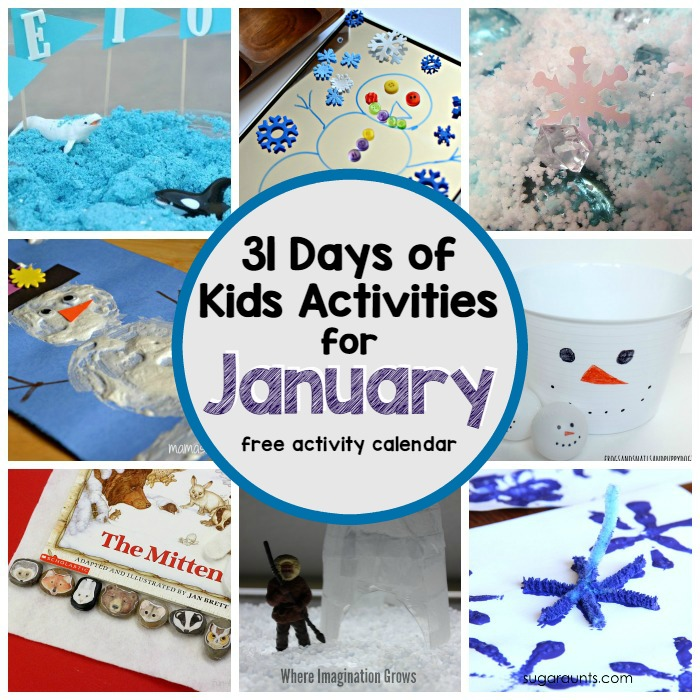 31 awesome winter themed activities for kids!