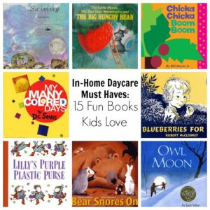 Picture Books for Kids Every Home Daycare Needs
