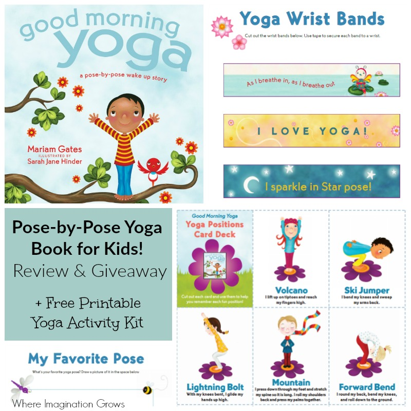 Good Morning Yoga Book Review Fun Yoga For Kids Where Imagination Grows