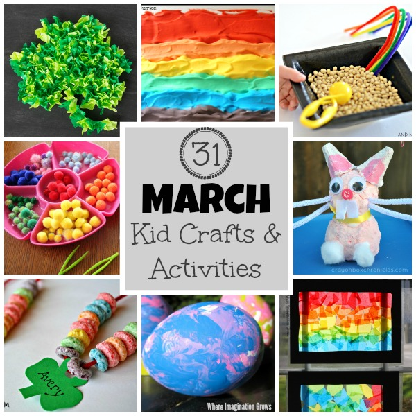 march craft ideas for kids 31 days of march crafts amp activities for where 6901