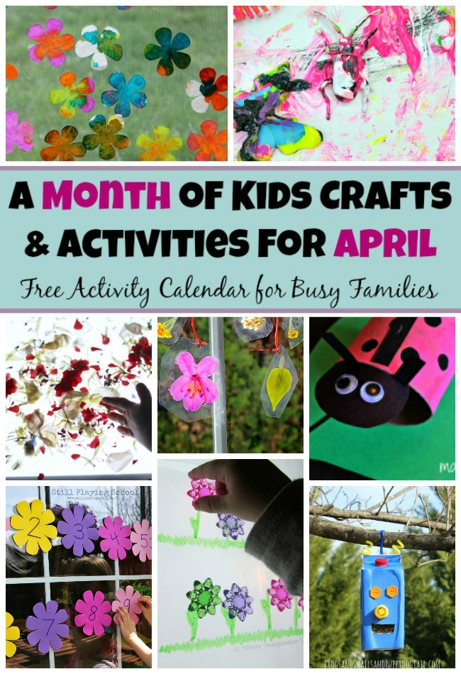 30 Spring Preschool Crafts Activities For April Where