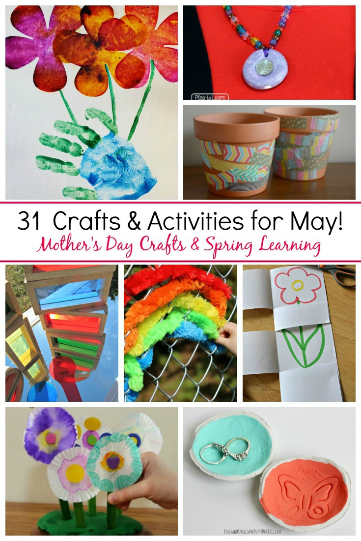 31 may crafts activities for kids where imagination grows for Mother s day projects for preschoolers