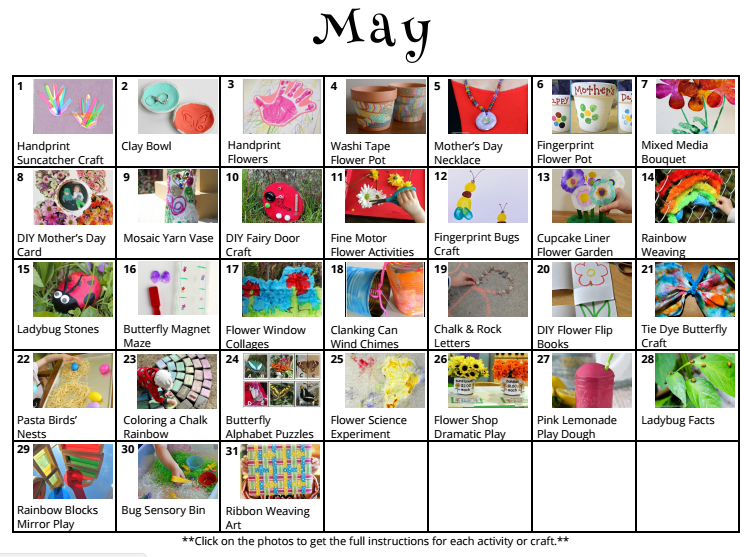31 May Crafts Activities For Kids Where Imagination Grows