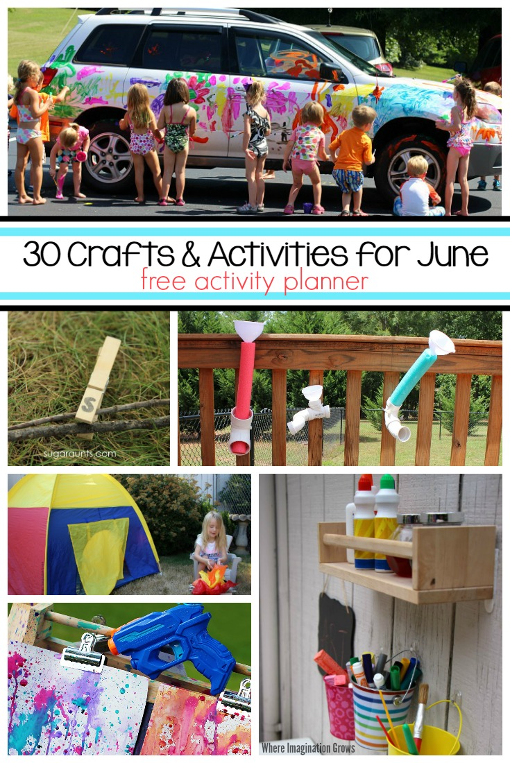 30 June Activities Fun Crafts For Kids Where Imagination Grows