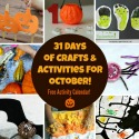 Craft & Activities for October