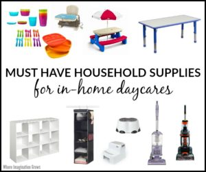 Must Have Supplies for Home Daycare Providers