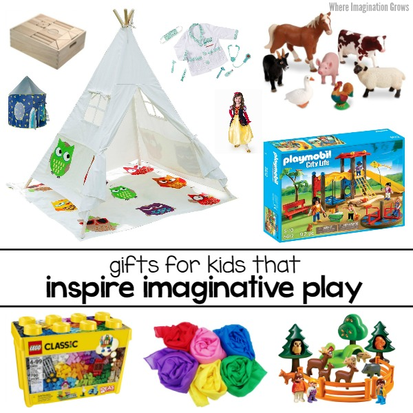 Gift Ideas for Kids that Inspires Imaginative Play