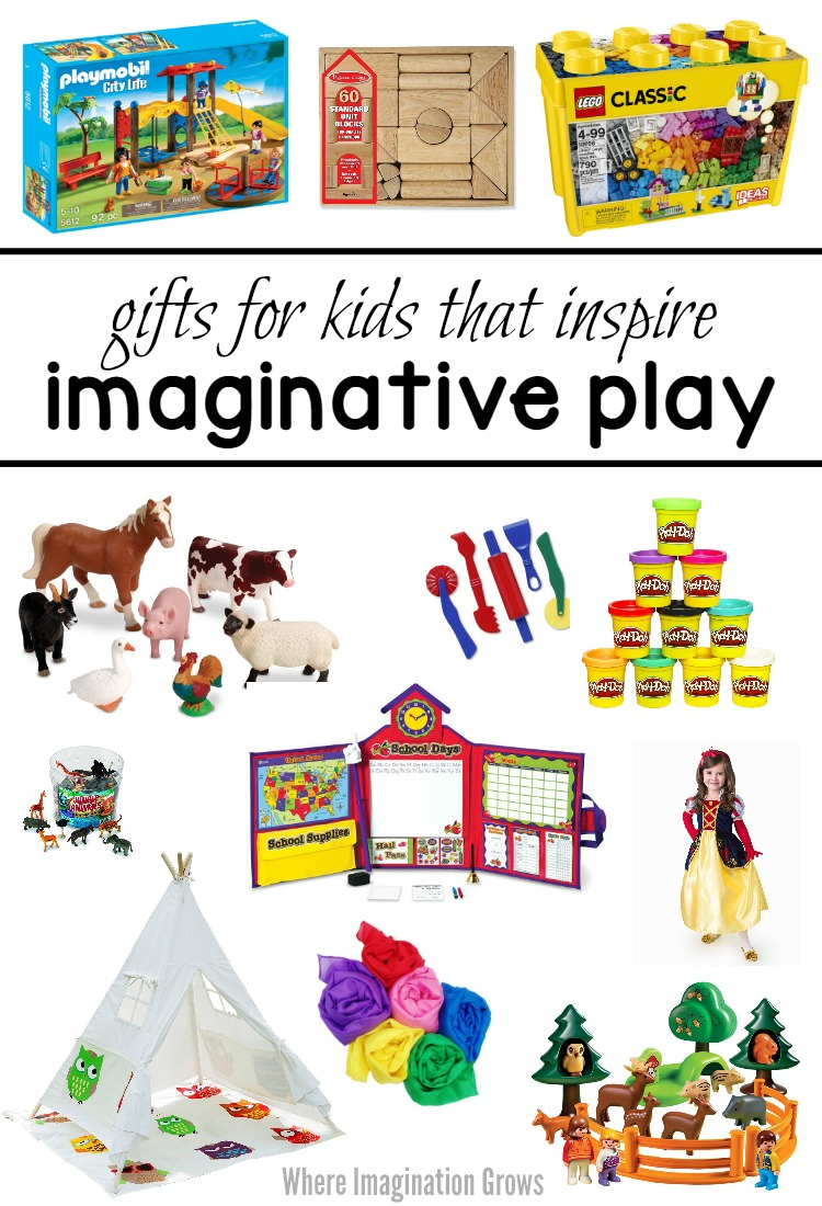 Gift Ideas for Kids! Toys that inspire imaginative play