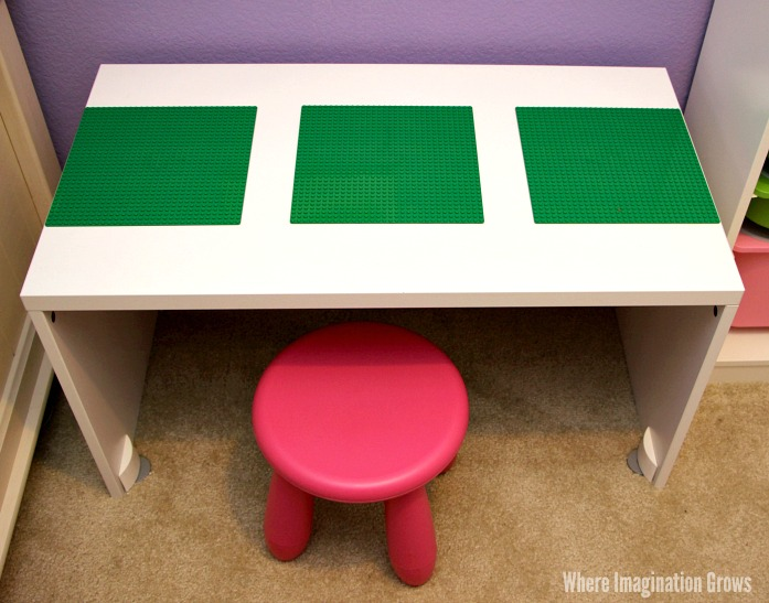 Easy DIY Lego table for Kids!