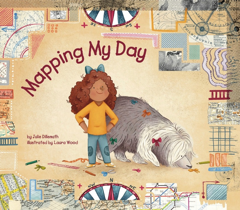 Mapping My Day by Julie Dillemuth! A fun children's book about learning to read maps!