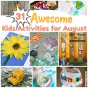 Craft & Activities for August