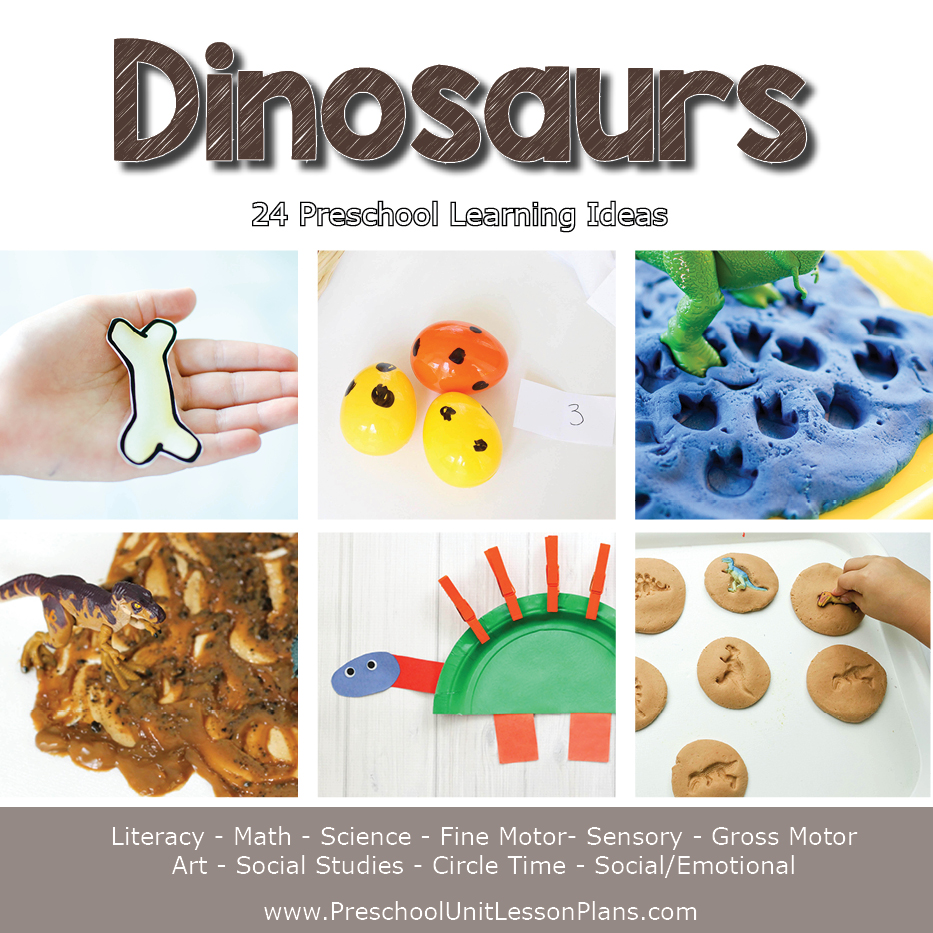 dinosaurs lesson plan for preschool a year of preschool lesson plans bundle where 938