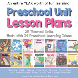 Detailed Preschool Lesson Plans Bundle for Teachers and Homeschoolers.